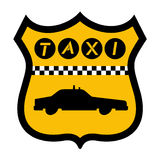 Urban taxi icon Stock Image
