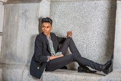 Free Urban Teenage Boy Fashion Stock Image - 100793051
