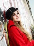 Urban Teenager Beautiful Girl Royalty Free Stock Images