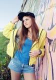 Urban Teenager Girl Young Adult Woman Stock Photography