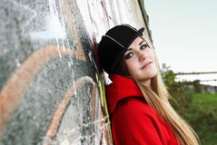 Urban Teenager Young Woman Stock Images