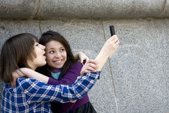 Urban teens girl Stock Photography