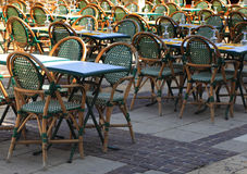 Urban terrace Royalty Free Stock Image
