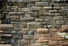 Urban textured Stone Wall Stock Image
