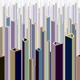 Urban theme abstract illustration. Stock Photo
