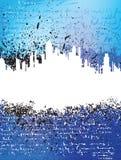 Urban theme background Stock Images