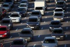 Urban traffic Royalty Free Stock Photo