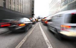 Urban traffic Stock Photography