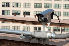 Urban Traffic Camera Royalty Free Stock Photos