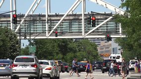 Urban Traffic, Inner City Driving Stock Photography