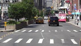 Urban Traffic, Inner City Driving Stock Photo