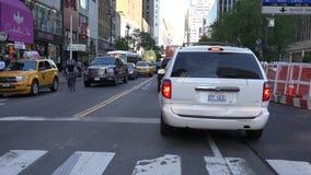 Urban Traffic, Inner City Driving Royalty Free Stock Photo