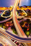 Urban traffic junctions Royalty Free Stock Photography