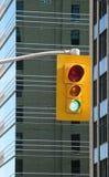 Urban traffic light royalty free stock image