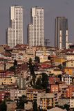 Urban Transformation. Which is an ongoing project after 1999 earthquake in Istanbul, Turkey Royalty Free Stock Photography