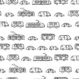 Urban transport seamless Stock Images