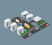 Urban transport street Stock Image