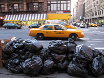 Urban trash Stock Photos