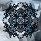 Urban trendy abstract  ornamental background Royalty Free Stock Images
