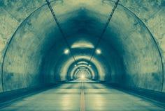 Urban tunnel Stock Photo