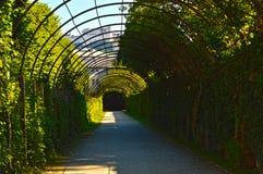 Urban Tunnel. In Salzburg, Austria royalty free stock photos