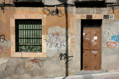 Urban vandalism royalty free stock photography