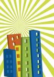 Urban vector 2 Stock Photo