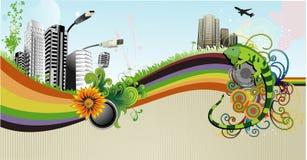 Urban vector illustration Stock Photo