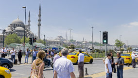 Urban view of Istanbul, Turkey. Stock Photography