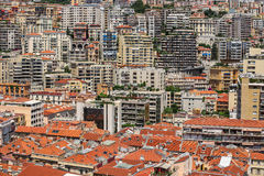 Urban view of Monte Carlo in Monaco, french riviera Stock Photos