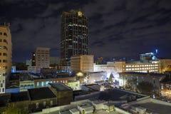 Urban view at night Stock Image