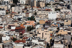 Urban view. View on old middle east city, urban landscape Stock Images