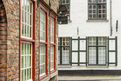 Urban view - Old Unesco Town of Brugge, Belgium. Stock Photo