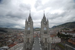 Urban view of Quito Stock Photos