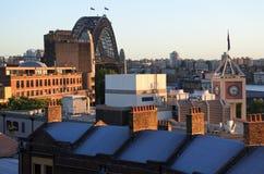 Urban view of The Rocks Sydney Australia New South Wales NSW Stock Image