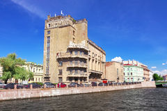Urban View of Saint-Petersburg. Royalty Free Stock Photos