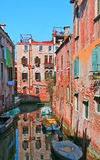 Urban view in Venice on a sunny day Stock Photos
