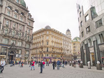 Urban view, Vienna, Austria Royalty Free Stock Photo
