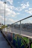 Urban walkway Royalty Free Stock Image