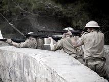 Urban Warfare WWII Royalty Free Stock Photos