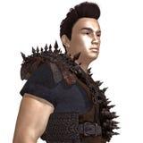 Urban warrior full body 3d render Royalty Free Stock Photography