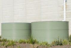 Urban Water Tank Royalty Free Stock Images