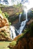 Urban Waterfall Stock Image