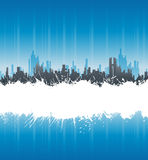 Urban white splatter stripe background Stock Images