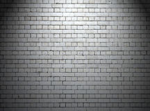 Urban White Wall at Night Background Royalty Free Stock Photo