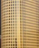Urban windows at sunset, Los Angeles, California Royalty Free Stock Photography