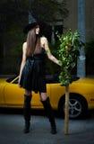 Urban witch Stock Photos