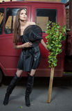 Urban witch Stock Photography