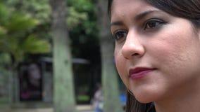 Urban Woman, Hispanic Female stock video footage