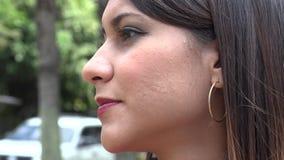 Urban Woman, Hispanic Female stock video